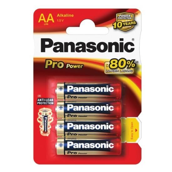 Baterijas Panasonic PRO Power AA/LR06-4BP 1.5V Alkaline