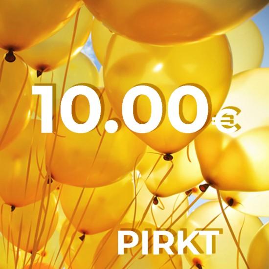 Dāvanu karte 10.00 €
